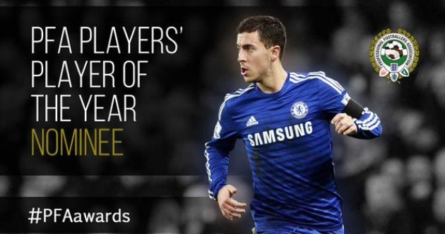 The shortlists for PFA Player of the Year and Young Player of the Year are out