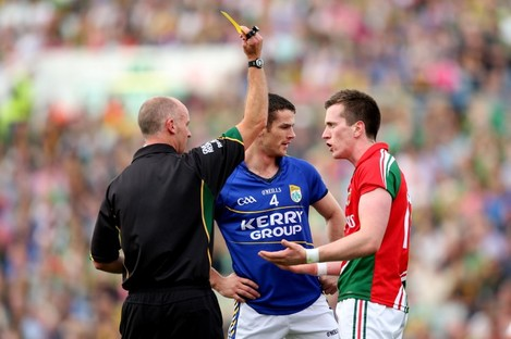 Cormac Reilly is one of this year's football referees.