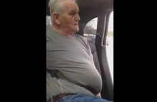 This man's struggle to get his seatbelt off is endlessly entertaining