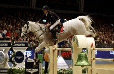 Irish teenager leads the show-jumping World Cup final