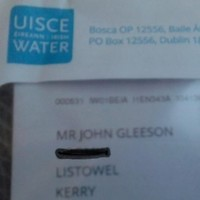Irish Water sends bill to man who died 11 years ago