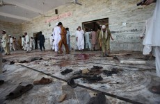 Pakistan mosque hit by suicide bombing that kills 40