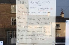 A chip shop owner gave the most disgruntled reason for closing his shop for holidays