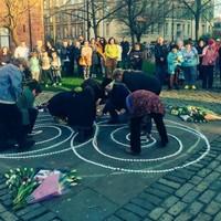 1000 candles lit for Karen Buckley at silent vigil
