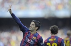 Lionel Messi scores his 400th Barcelona goal as Suarez strikes after just 60 seconds