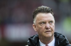 LVG was clearly unimpressed with one reporter's line of questioning after the game today