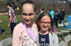 Hundreds of strangers showed up to this little girl's birthday after her classmates ignored invitations