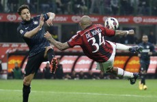 The teams for tonight's Milan derby highlight how far Inter and AC have fallen