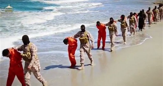 Isis video purports to show massacre of Ethiopian Christians