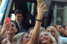 Watch: Screaming, selfie-crazed hen party mobs Ed Miliband