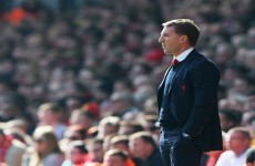 Rodgers insists Gerrard was 'excellent,' questions Liverpool's mental strength
