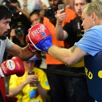 Freddie Roach says preparing Pacquiao for Mayweather bout saves him from suicide