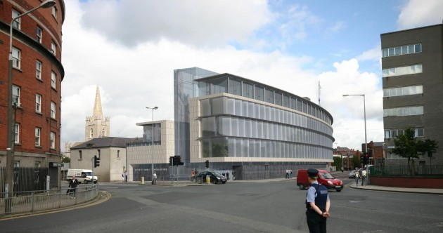 A massive new Garda station is being built in Dublin ... Here's what it will look like