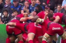 Should Toulon's Suta be cited for this dangerous choke hold against Leinster?