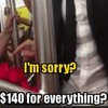 This random act of kindness on a train is going viral worldwide