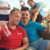 No cans by the canal for BOD, he's hanging out with other sporting legends in Dubai