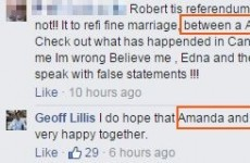 This might be the most unfortunate typo of the whole marriage equality debate