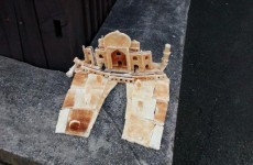 This Taj Mahal made of toast just turned up in London, and it's baffling everyone
