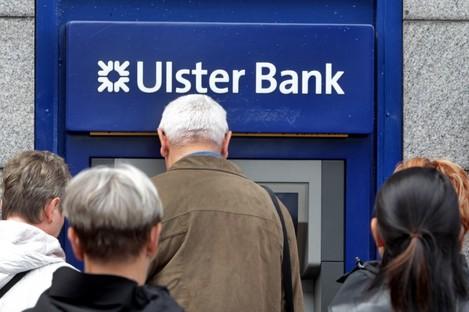 An Ulster Bank ATM