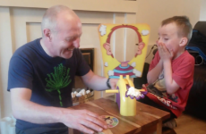 This grandad's infectious laughter will brighten up your Wednesday