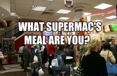 What Supermac's Meal Are You?