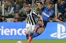 Juventus defender Giorgio Chiellini is a complete and utter chancer