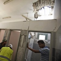Southern Israel pounded from Gaza by Hamas militants