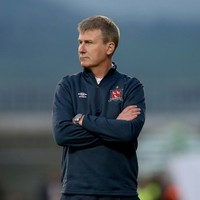 Dundalk manager Stephen Kenny is extending his stay at Oriel Park