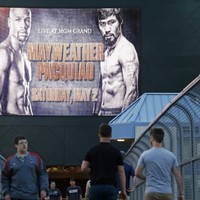 Tickets for Mayweather v Pacquiao sell out instantly, now going for up to €129,000
