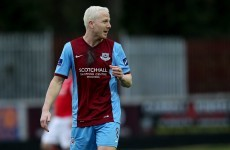 Former Sunderland midfielder sees red as Drogheda endure miserable night