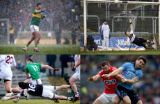 Hailstones, floodlight fail and Dubs glory - 27 of this year's best football league pictures
