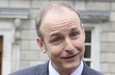 Micheál Martin has a pop at Leo, who is having none of it