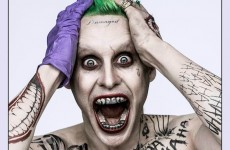 Jared Leto's Joker has been revealed, and people think he looks like Marilyn Manson