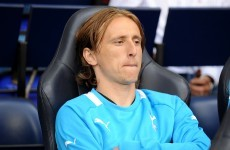 Luka Modric goes on strike - reports