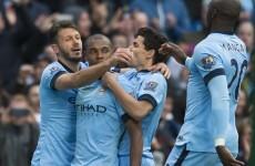 Dogged Villa give Man City a scare after Guzan howler but Fernandinho grabs late winner