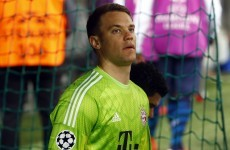 Manuel Neuer shows why he's probably a better outfield footballer than you