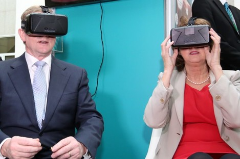 Looking for answers: Enda Kenny and Joan Burton