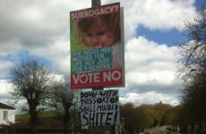 This small Kilkenny town had the most Irish response to a 'No' campaign poster