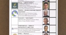 Does this ballot paper look confusing to you?