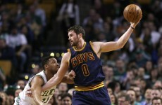 'He did it on purpose': Kevin Love was an angry man after dislocating his shoulder
