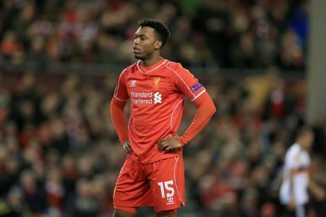 Sturridge: hasn't played since Liverpool's FA Cup win at Blackburn on 8 April.