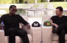 P Diddy and Mark Wahlberg have made a $250,000 bet on Mayweather v Pacquiao