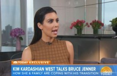Kim Kardashian discussed Bruce Jenner's transition in a frank interview this morning