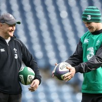 Schmidt may use Barbarians clash to 'broaden' Ireland's playing base