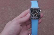 People are already conducting drop tests on the Apple Watch