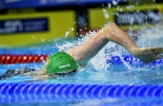 A US national team swimmer is set to represent Ireland at the Olympics