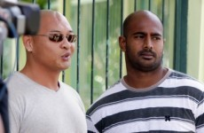 Two Australian drug smugglers executed by firing squad