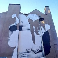 George's Street mural creator has said it was 'never meant to last'