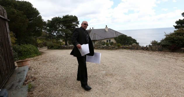 In Pictures: Another media circus at Gorse Hill - as the receivers arrive in Killiney