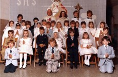 15 signs you're at an Irish First Communion